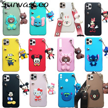 For Huawei P9 P10 P20 P30 P40 Lite / Pro 3D Toy Cute Cartoon