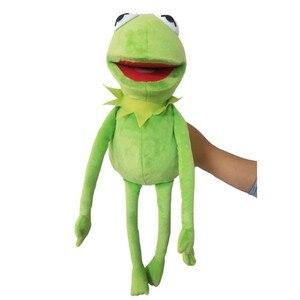Duża 60cm ulica sezamkowa Muppet Show Kermit żaba lalki pluszowe zabawki lalki wypchane zabawki dla dzieci boże narodzenie zabawki na imprezę prezent