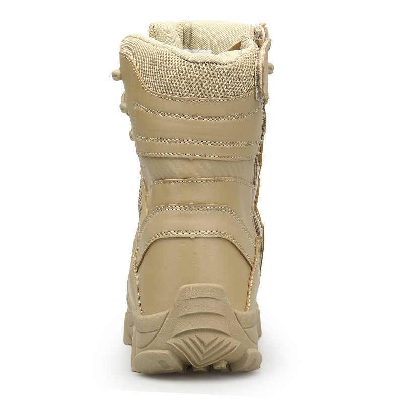 39-47 Stivali militari Esterni Traspirante Forte resistente All'usura Stivali Dell'esercito Stivali Invernali Zapatos De Hombre 2019 Nuovo