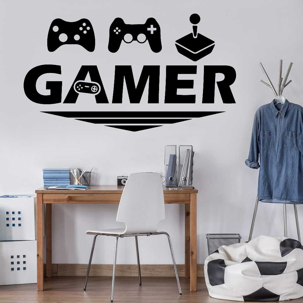 Game Over Modern Gamepad Men Boys Hippie Funny Tapestries for Bedroom Dorm Home