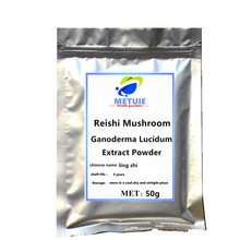 High quality Reishi mushroom extract 50% Polysaccharide Triterpenel 1% 1pc festival top Ganoderma Lucidum powder free shipping. 500mg capsule high quality ganoderma lucidum extract reishi mushroom capsule with competitive price