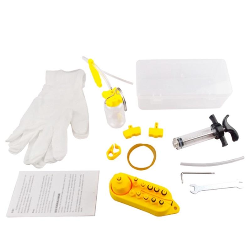 Велосипедный Гидравлический дисковый тормоз, масло, набор инструментов для MTB шоссейного велосипеда, инструмент для ремонта тормозов