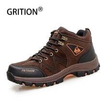 GRITION, мужские осенние треккинговые ботинки, уличные тактические военные охотничьи сапоги, мужские ботинки Magnum,, обувь на толстой подошве