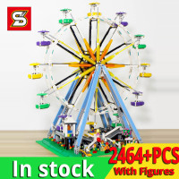 SY1218 blocks city Ferris wheel model building kits 15012 building construction toys gift ideas kids girls christmas birthday