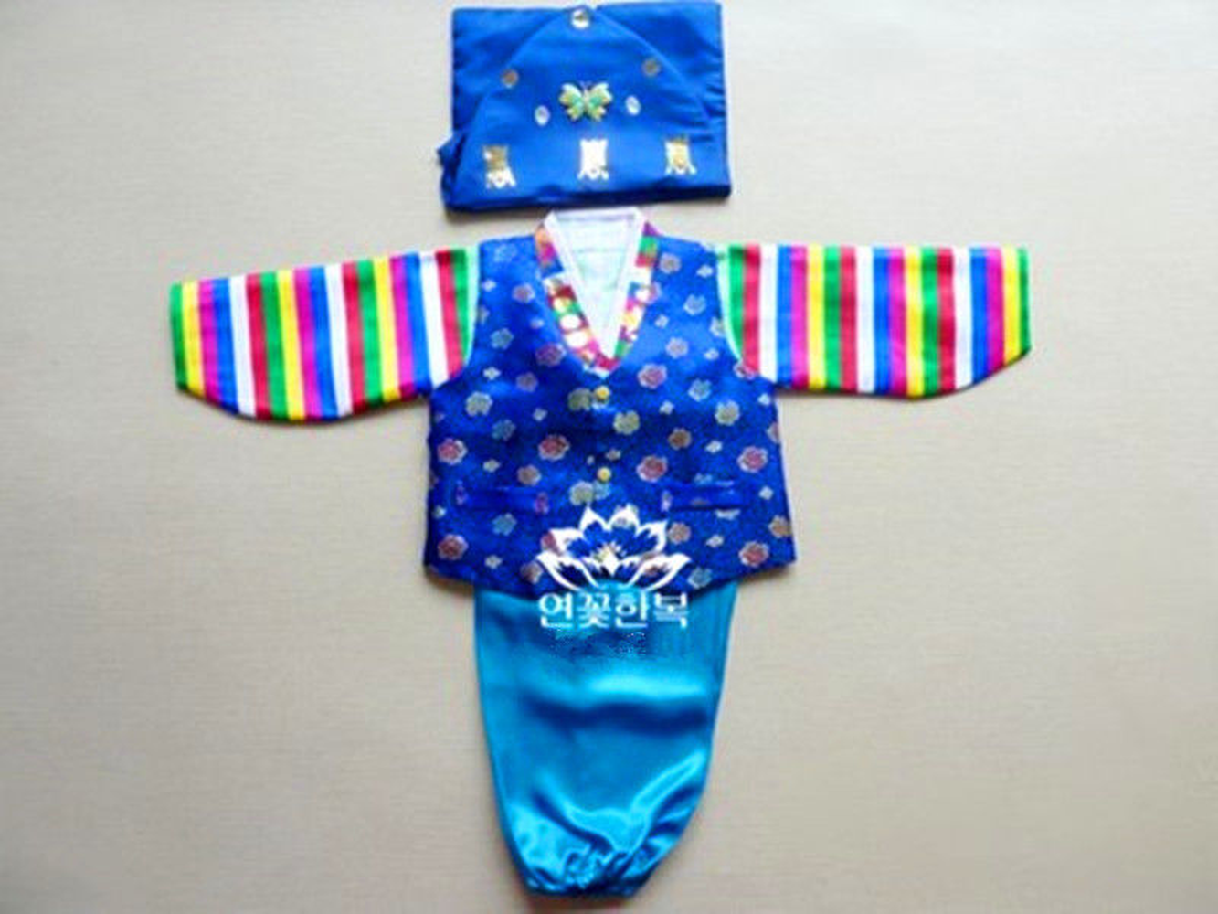 Korean Traditional Hanbok For Baby Boy Birthday Party Korean National Kid Clothes Dolbok Fancy Dress Top Selling Product In 2019