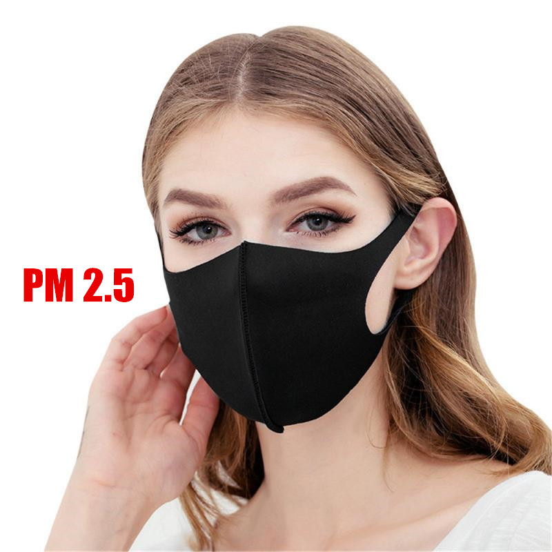 Cotton Mouth Mask Anti Haze Dust PM2.5 Mouth Cover Reusable Women Men Dustproof Mouth-muffle Anti-virus Filter Breathable Mask