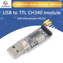 Usb ao interruptor do módulo ch340g ch340 3.3v 5v do conversor de ttl uart
