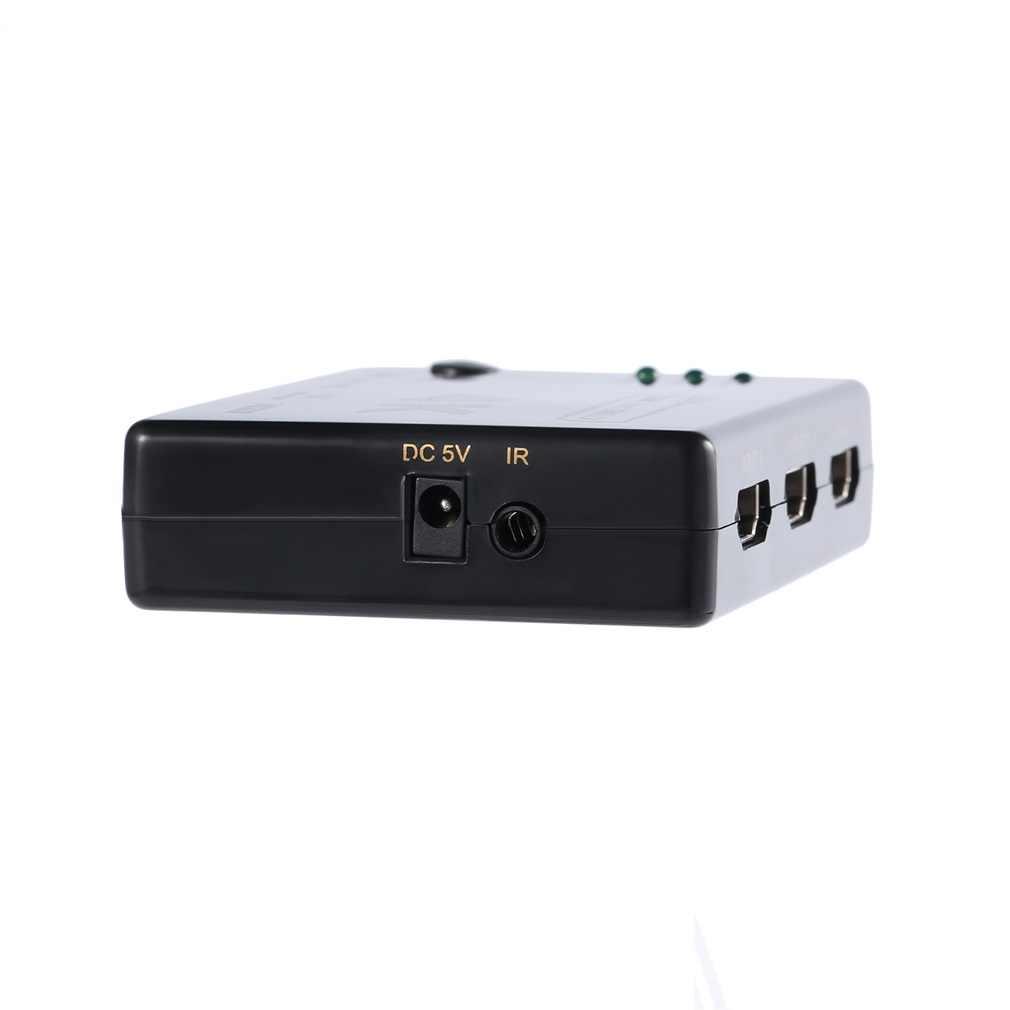 LESHP черный 3 до 1 4K 1080P HDMI переключатель видео аудио коммутатор разветвитель концентратор для PS4 HD tv HDML1.4b высокое разрешение