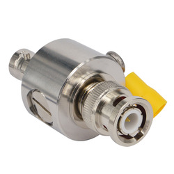 BNC Coaxial Lightning Arrestor Surge Protector 50 Ohm BNC Male to Female Thunder & Lightning Protection Device for CCTV Camera