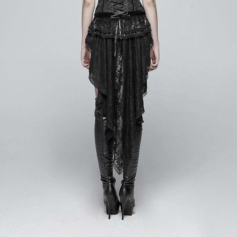 Панк RAVEwomen готические шорты ласточкин хвост шорты модные ретро шнуровка викторианские сексуальные дворцовые шорты для выступлений - 3