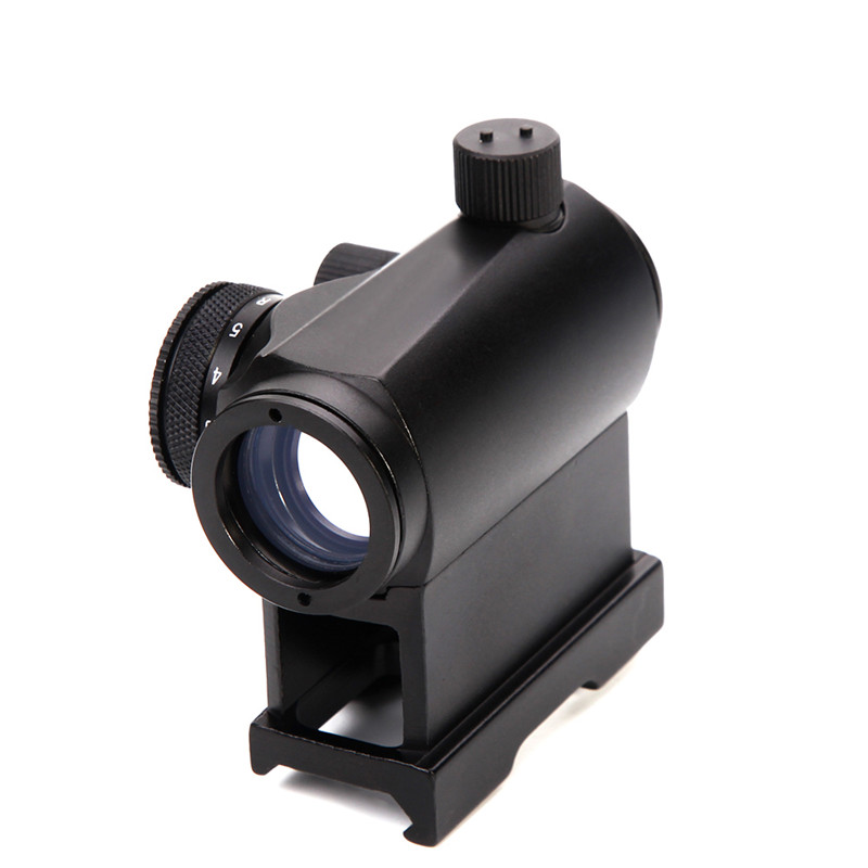 DDartsGO Hunting Riflescopes Airsoft Mini Micro <font><b>Red</b></font> <font><b>Dot</b></font> Sight Optical Sight <font><b>Scope</b></font> Tactical Reflex Quick-detach Riser Rail Mount image