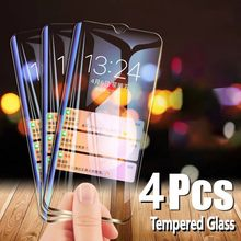 4pcs Gehärtetem Glas Für Huawei Ascend Honor 20i V20 spielen Mate 30 20 10 9 Pro Lite P Smart 2019 Screen Protector Schutz Film(China)