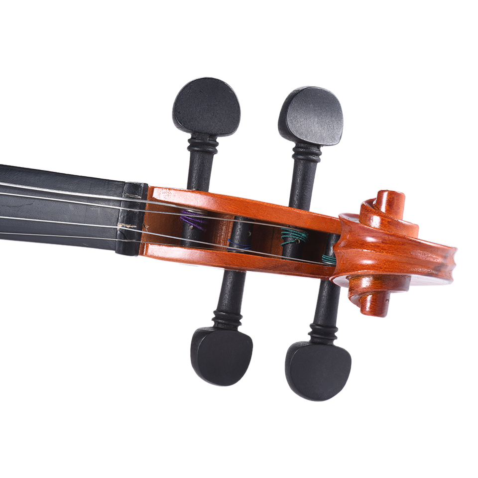 4//4 Violin Tuning Pegs Fiddle Ebony Violin Tuning Pegs Replacement