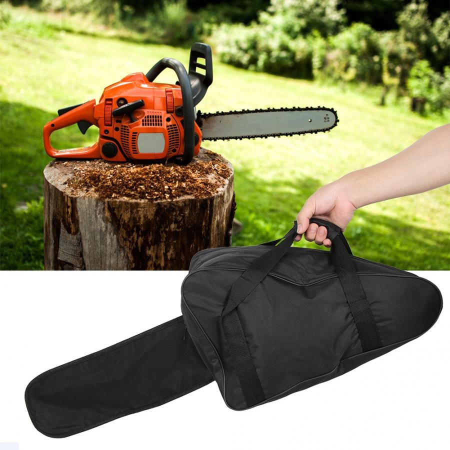Portable Black Chainsaw Bag Waterproof Oxford Cloth Chain Saw Case Full Protection Storage Carrying Bag Chainsaw Case|Storage Bags|   - AliExpress