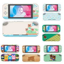 Vinyl Cute Screen Skin Animal Crossing Protector Stickers for Nintendo Switch Lite NS Console Nintend Switch Lite Mini Skins