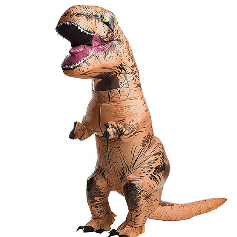 Inflatable Dinosaur Costume  Adults Man Women Halloween Blowup Outfit Cosplay