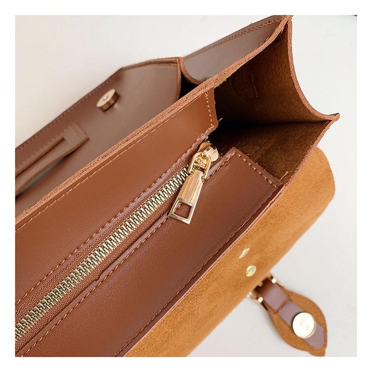 mensageiro do vintage bolsas ombro feminino retro