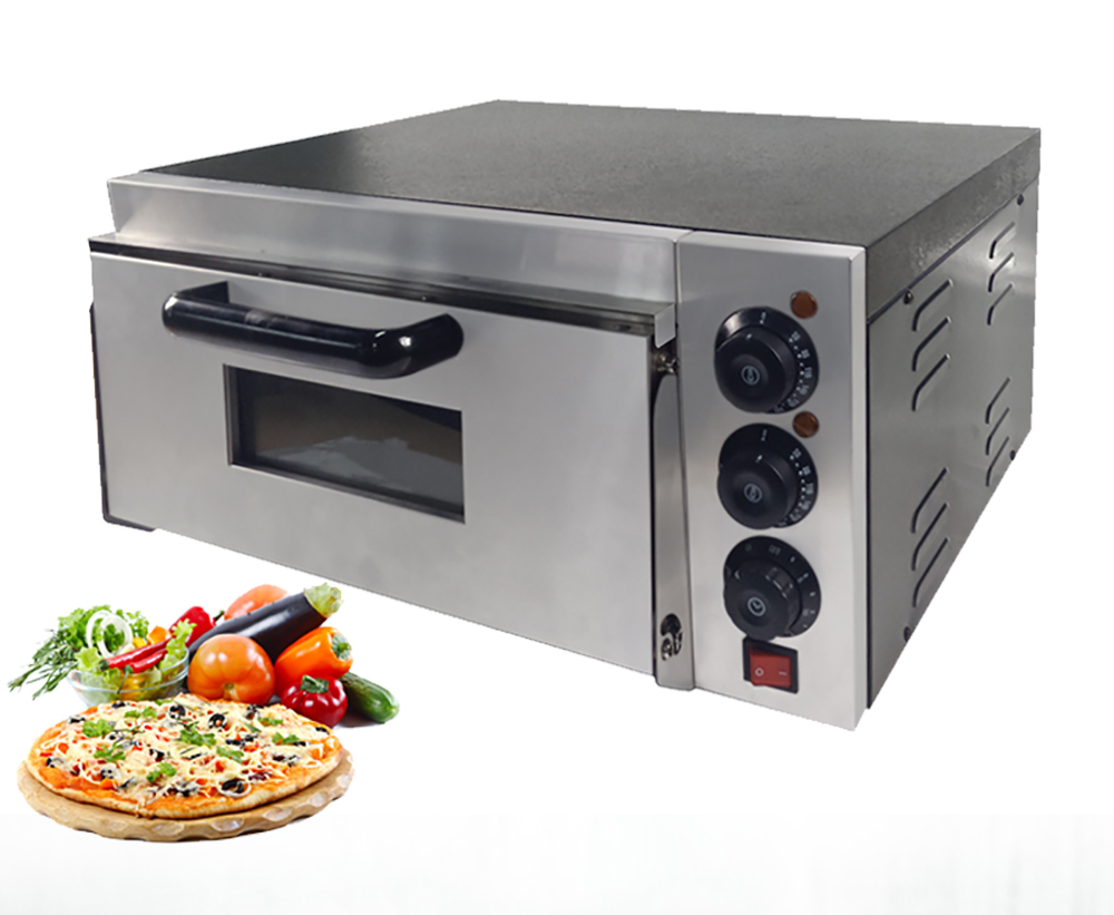 Four à Pizza électrique multifonctionnel simple pont gâteau pain poulet Pizza cuisinière restauration cuisine équipement de cuisson Commercial
