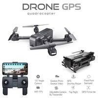 Квадрокоптер Z5 Drone с HD 720 P/1080 P камерой Дрон с GPS 2 4G/5G Wi-Fi FPV высота удержания Следуйте за мной режим Dro vs Visuo XS812