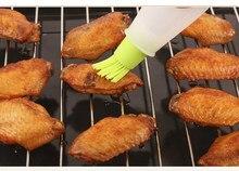 Pinceau et bouteille en Silicone pour crêpes à l'huile, outil de cuisine pour la cuisson du miel