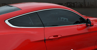 stainless steel car window trims for ford mustang 2015 2016 2017 2018 6th generation