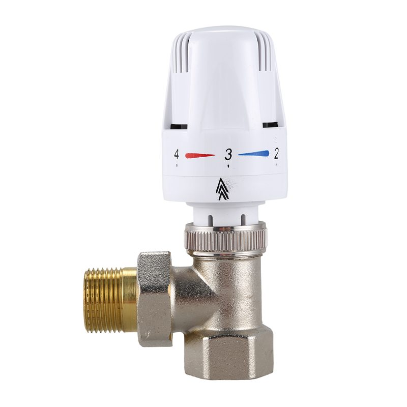 DN20 Automatic Temperature Control Valve Angle Floor Heating And Heating Special Valve