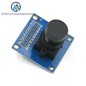 Módulo de câmera OV7670 OV7670 640X480 moduleSupports VGA CIF exibição de controle de exposição automática do tamanho do ativo Para Arduino