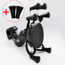 Motorcycle Handle Bar Rail Mount Bar Mount X Grip Phone Holder Stand