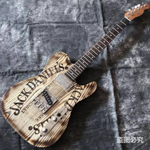 Ручная работа 6 струн джазовая электрическая гитара Гриф из