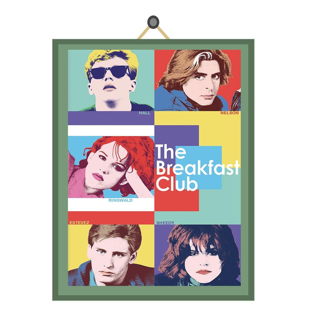 H463 Vintage The BREAKFAST Club Classic Movie Film Poster Art Decor