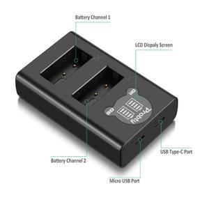 Image 4 - NEW 1850mah For Nikon EN EL23 EN EL23 Battery + Dual Charger for Compatible with Nikon Coolpix P600 P610  B700 P900 S810c