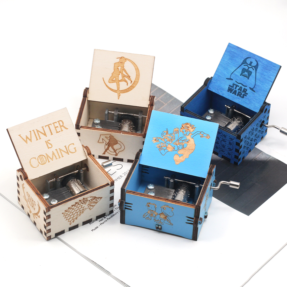 Queen music box Game Of Thrones Star Wars The Godfather Music Box Musica Theme Birthday Gift