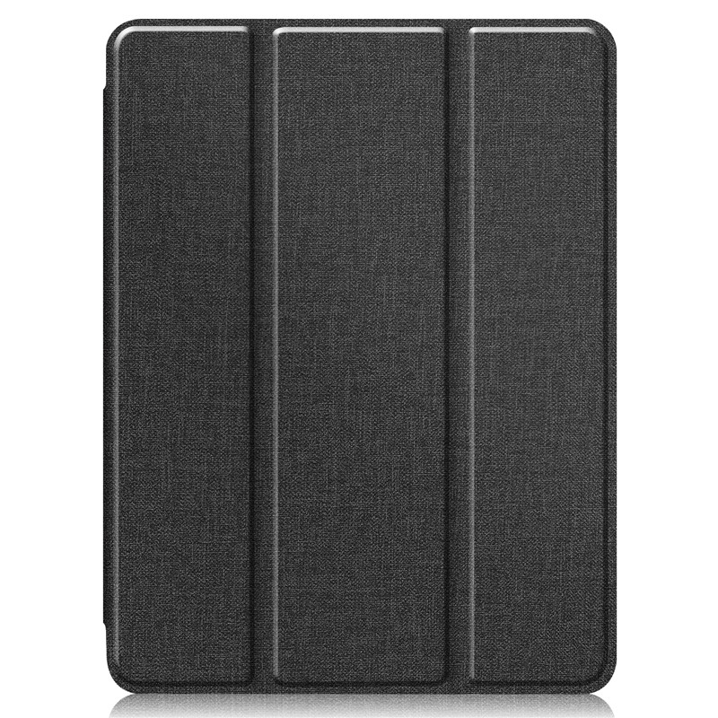11 Textured Funda Pencil iPad For Stand + Holder Smart Pro Soft With Cloth Case TPU 2020