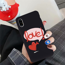 JAMULAR Cartoon Love Heart Rabbit Phone Case For Huawei P30 P20 Pro Mate 20 Lite Honor 10 Soft TPU Back Cover Funny Letter Funda