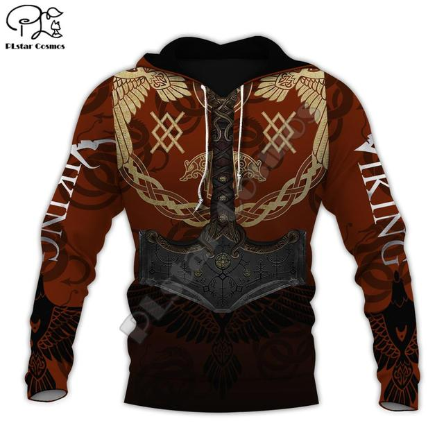 Warrior Tattoo Tracksuit Colorful 3D Print Hoodie/Sweatshirt/Jacket 1
