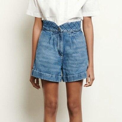 2020 Spring And Summer New High Waist Women's Casual Denim Shorts