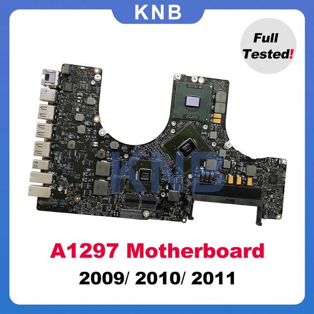 """オリジナルA1297マザーボード820 2610 A 820 2849 A 820 2914 A/b macbook proの17 """"a1297ロジックボード2009 2010 2011年"""