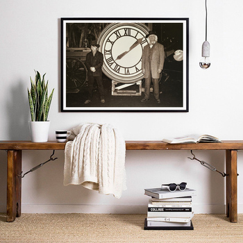 Back to the Future Poster Classic Movie Print Alternative Film Retro Photo Vintage Style Wall Art Canvas Painting Home Decor wall art canvas print back to the future 1 2 3 hot movie poster for living room decor bar decoration