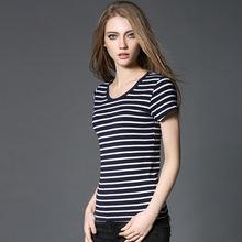 Женская Модальная футболка с круглым вырезом женская рубашка