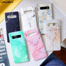 цена Marble Phone Case For Samsung Galaxy S10 S10E S9 S8 Plus S7 edge Case Silicone Cover For Samsung Galaxy Note 10 Plus 9 8 Case