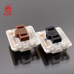 Image 5 - Kailh 로우 프로파일 기계식 키보드 스위치, 노트북 용 초박형 키보드 스위치 선형 촉각 핸드 필링 도매 cpg1232