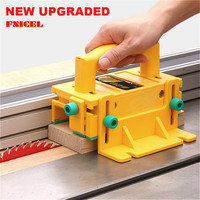 3D Safety Pusher Woodworking Flip Table Saw Vertical Milling Planer Saw Pusher Safety Feeder Wood work Safety Assistant Tools