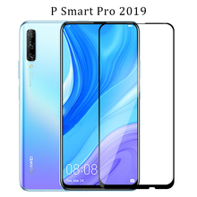 tempered glass for huawei p smart pro 2019 protective glas on psmart smar screen