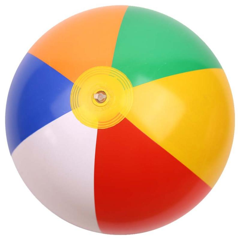 1Pcs Inflatable Beach Ball Kid's Water Birthday New Year Christmas Halloween Gift Toy Ball Swimming Pool Water Rubber Ball Toys