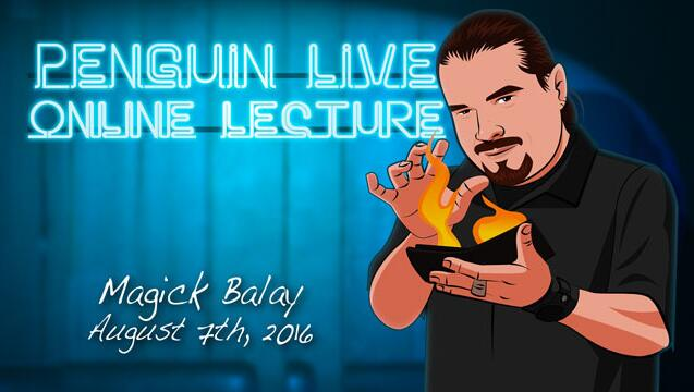 Magick Balay Penguin Live ACT  MAGIC TRICKS