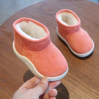 Baby Girls Boys Boots 2020 Winter Infant Toddler Snow Boots Warm Plush Outdoor Boots Soft Bottom Non-slip Kids Cotton Shoes baby girls boys boots 2020 winter infant toddler snow boots warm plush outdoor boots soft bottom non slip kids cotton shoes