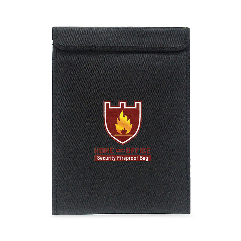 Fireproof Money Document Bag Water Resistant Cash Envelope Holder Protection Pouch Bags SP99