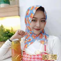 Милый Арабский мусульманский летний шарф-хиджаб