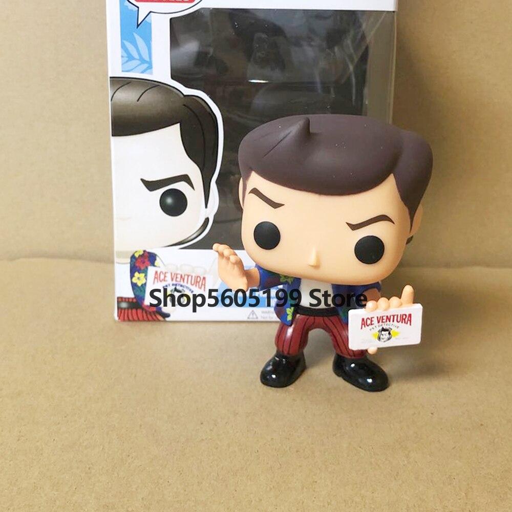 Новинка! POP ACE VENTURA #32 с коробкой виниловые экшн-фигурки модели игрушки для детей подарок