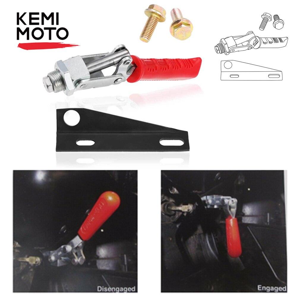 KEMIMOTO Parking Brake Kit Assembly For Polaris RZR Razor 1000 XP 4 900 S 1000S Trail Power Steering Parking Brake Lockable